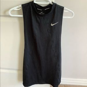 Nike dri fit muscle tank